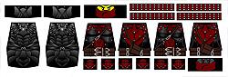 Custom LEGO Minifig Decals: Fantasy Elder Series Assassins