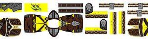 Custom LEGO Minifig Decals: Fantasy Elder Series Dragonborn Hero
