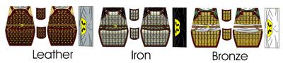 Custom LEGO Minifigure: Medieval Arab Lamellar Armor