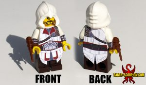 Custom LEGO Minifigure: Historic Assassin