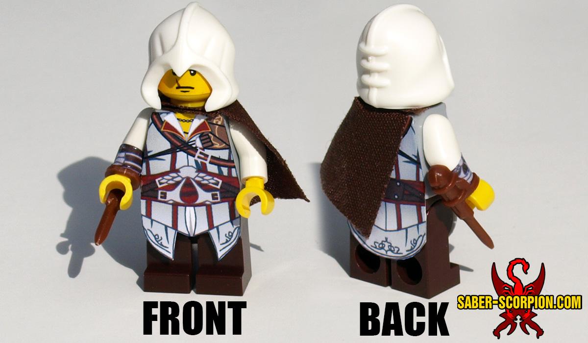 Custom LEGO Minifigure: Historic Assassin