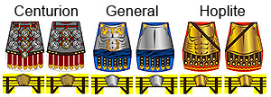 Greco-Roman Armor Minifig Decals