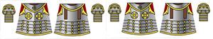 Custom LEGO Minifig Decals: Polish Hussar Armor