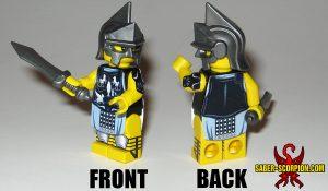 Custom LEGO Minifigure: Roman Gladiator Avenger