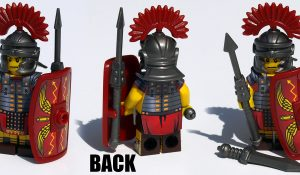 Custom LEGO Minifigure: Roman Legion Soldier