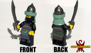 Custom LEGO Minifigure: Saracen Warrior