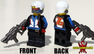 Custom LEGO Minifigure: Watcher Soldier