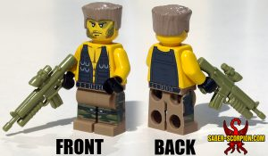 Custom LEGO Minifigure: Action Hero Commando
