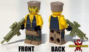 Custom LEGO Minifigure: Action Hero Commando