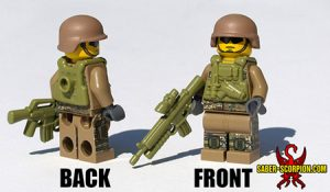 Custom LEGO Minifigure: Scorpion Commando