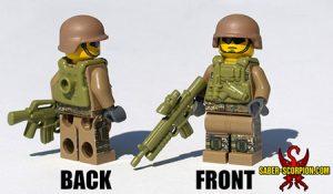 Custom LEGO Minifigure: Scorpion Commando