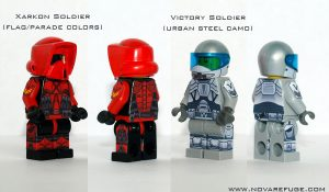 Custom LEGO Minifig Decals: Nova Refuge