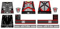 Custom LEGO Minifig Decals: Nova Refuge