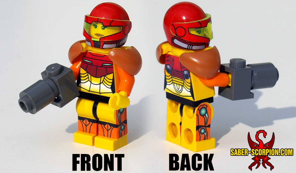 Sci-Fi Bounty Hunter Minifigure