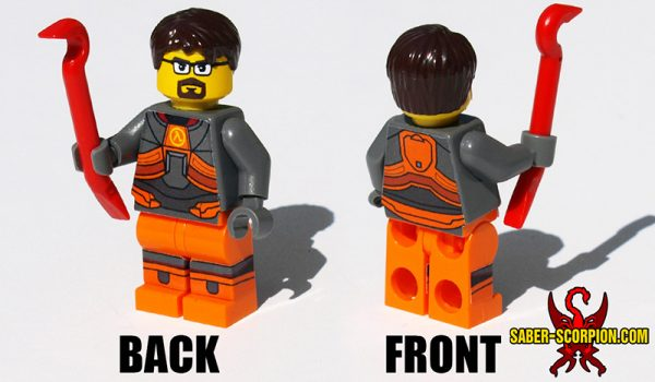 Sci-Fi Scientist Minifigure