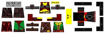 Custom LEGO Minifig Decals: SYWBAA Heroes