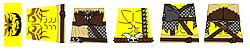 Custom LEGO Minifig Decals: SYWBAA Dark Druids