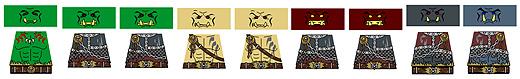 Custom LEGO Minifig Decals: SYWBAA Orcs