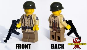 Custom LEGO Minifigure: WW2 American Soldiers