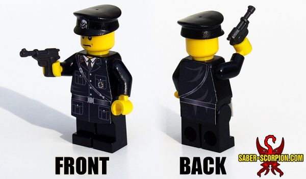 Custom LEGO Minifigure: WW2 German Officer