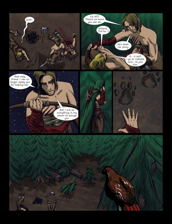 Wulfgard Comic Page