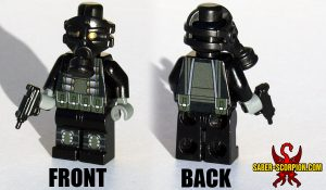 Custom LEGO Minifigure: Gas Mask Merc