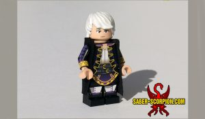 Custom LEGO Minifigure: Anime Adventurer