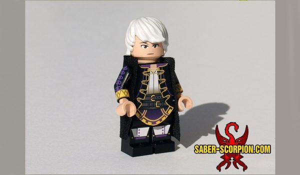 Custom LEGO Minifigure: Anime Adventurer