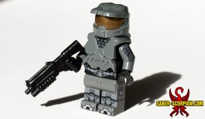 Master Cyborg Soldier with BrickForge Shotgun
