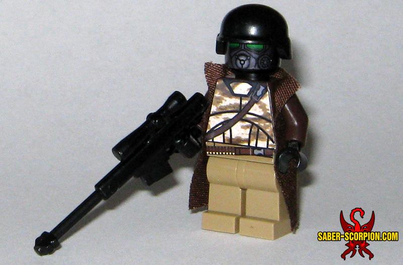 Custom LEGO Minifigure: Post-Nuclear Fallout Ranger