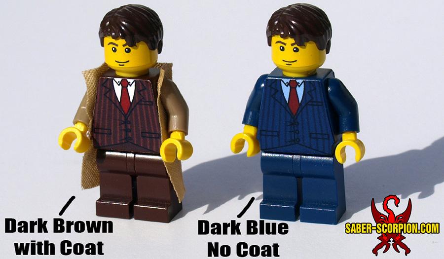 Custom LEGO Minifigure: The Doctor