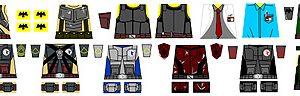 Custom LEGO Minifig Decals: G4M3