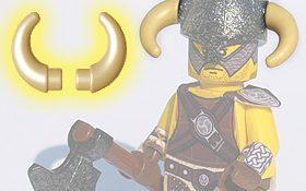 BrickWarriors Crescent Horns