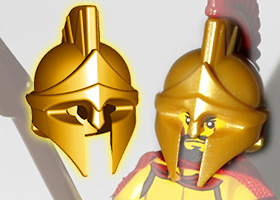 BrickWarriors Greek Spartan Helmet
