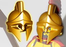 BrickWarriors Greek Spartan Helmet