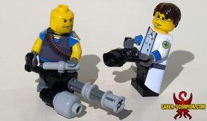 Custom LEGO Minifigure: Merc Big Guy & Medic