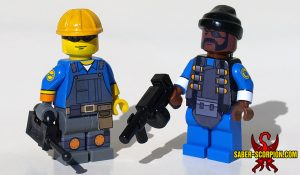 Custom LEGO Minifigures: Bomber and Technician