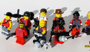 Custom LEGO Minifigure: Merc Team: Fortress Defense