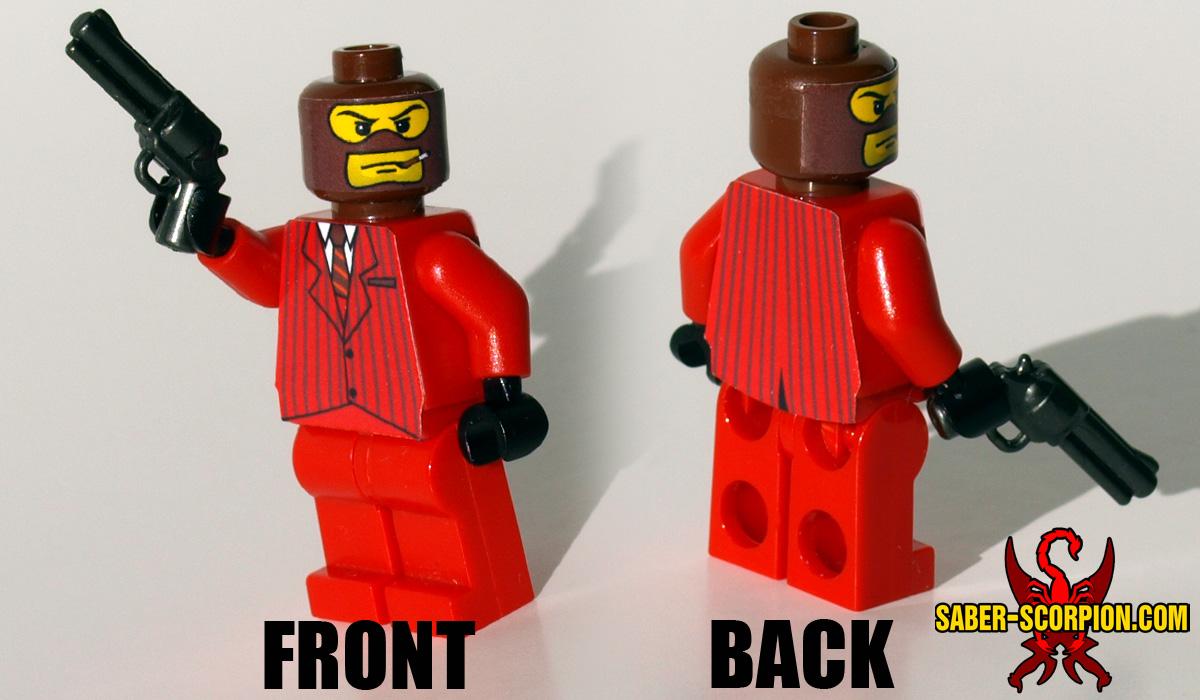 Custom LEGO Minifigure: Merc Spy