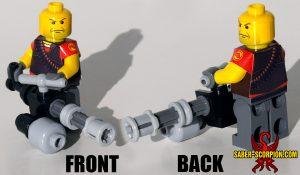 Custom LEGO Minifigure: Merc Big Guy