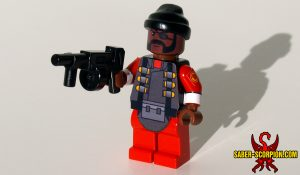 Custom LEGO Minifigure: Demolition Man