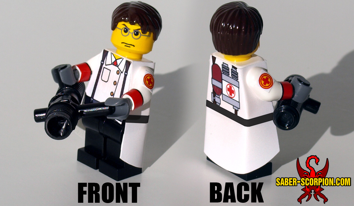 Custom LEGO Minifigure: Merc Medic
