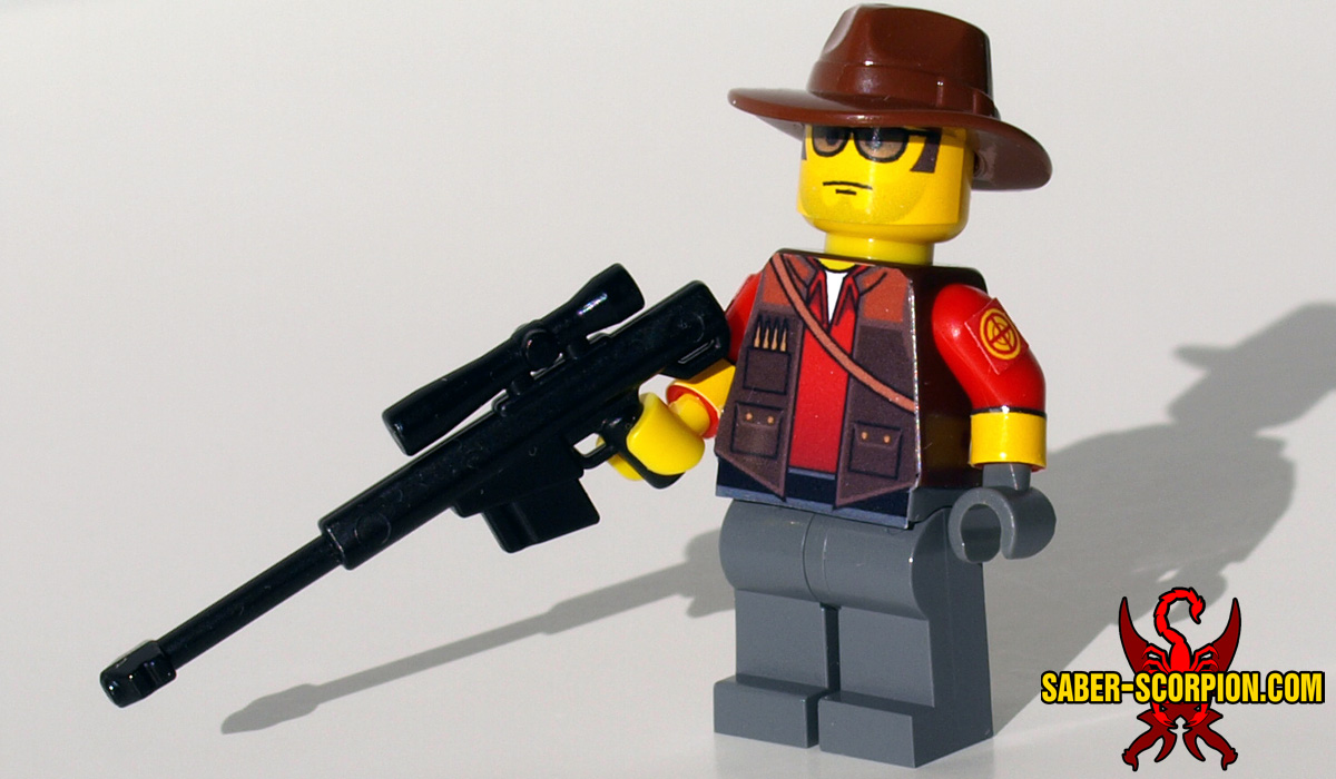 Custom LEGO Minifigure: Merc Sniper