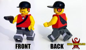 Custom LEGO Minifigure: Merc Scout