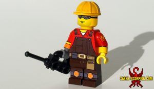 Custom LEGO Minifigure: Technician Merc