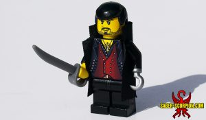 Custom LEGO Minifigure: Captain Claw