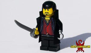 Custom LEGO Minifigure: Captain Claw