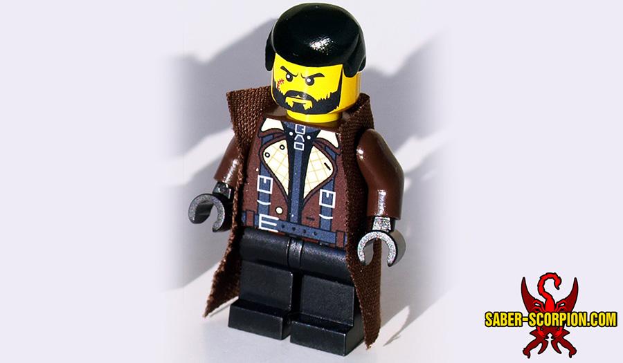 Custom LEGO Minifigure: Post-Nuclear Fallout Commander