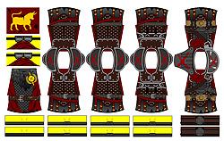 Custom LEGO Minifig Decals: Post-Nuclear Fallout Legion