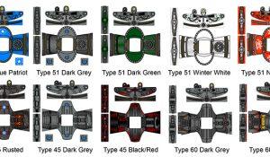 Custom LEGO Minifigure Stickers: Nuclear Fallout Power Armor